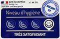 étiquette niveau hygiène